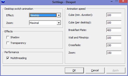 dexpot settings 2